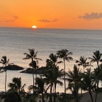 Hawaiian Sunrise and Sunset